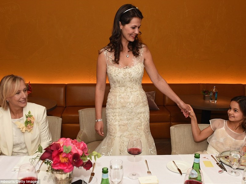 Martina Navratilova married Julia Lemigova in 2014