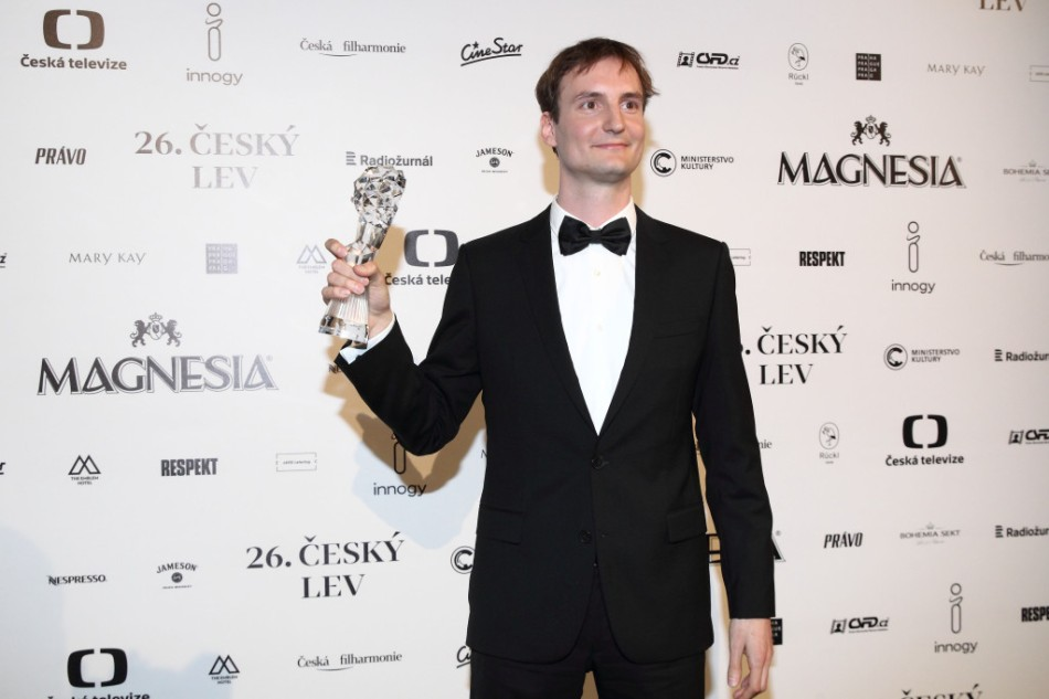 Olmo Omerzu received the Best Movie and Best Director awards at the 2019 Czech Lion ceremony