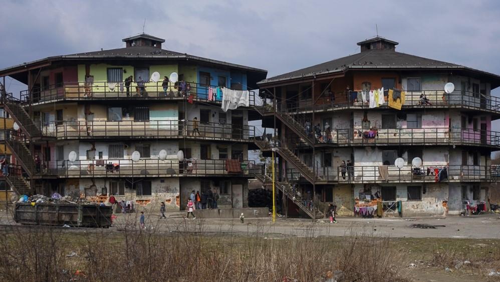 Roma ghettos in Slovakia