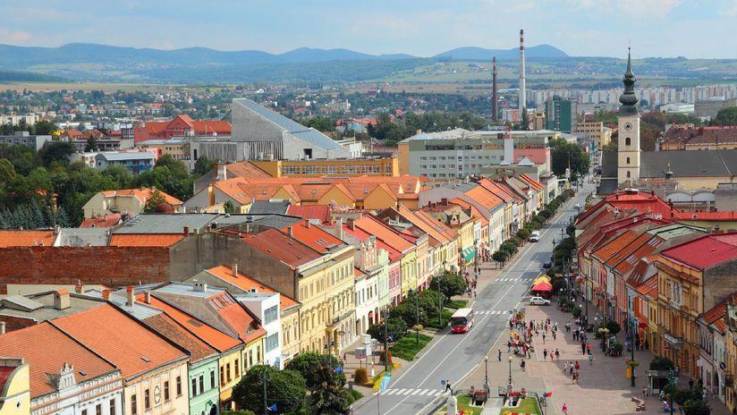 Slovakia's eastern Prešov region a symbol of country's