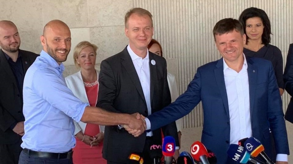 Slovakia's opposition agree to cooperation ahead of 2020 elections