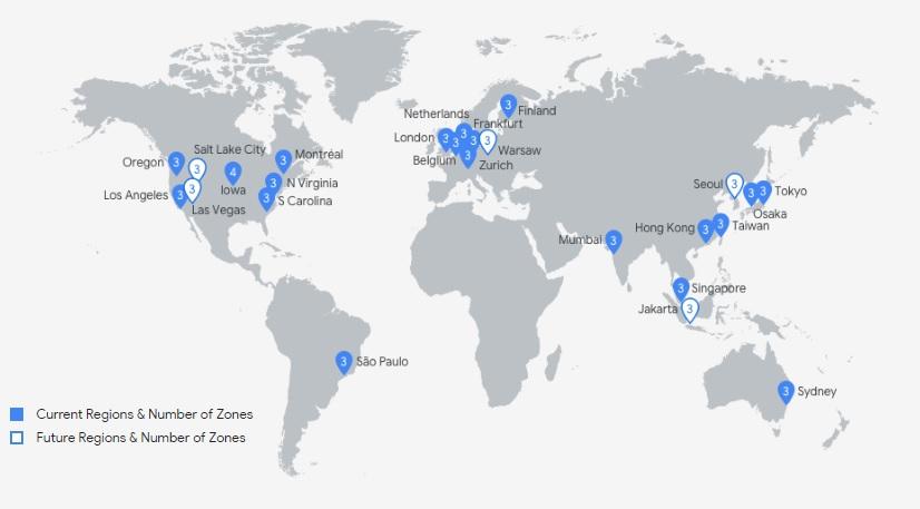 google-cloud-regions