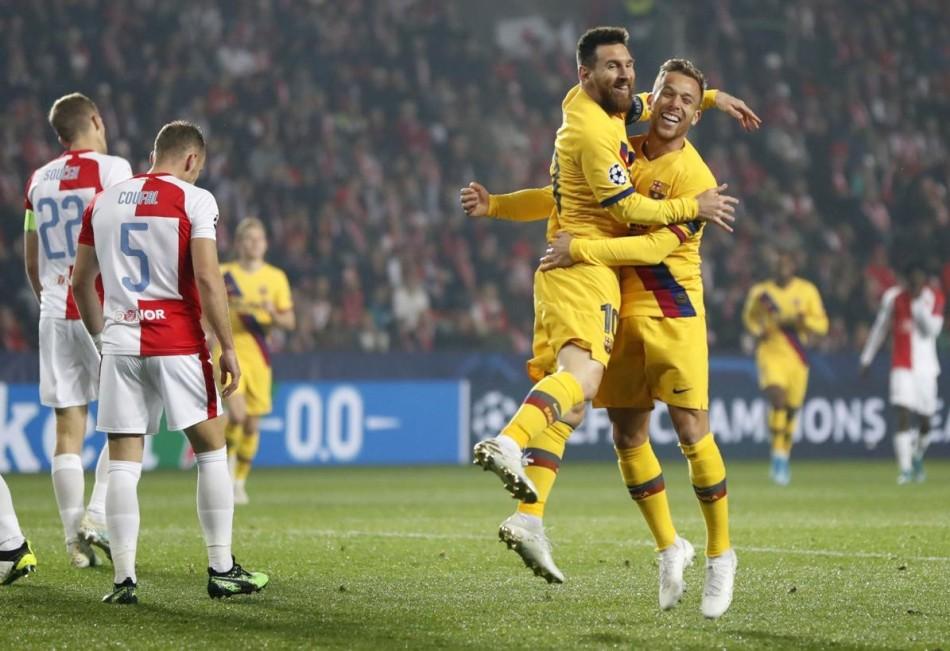 Barcelona-Slavia-Praha -UEFA-Champions-League-2