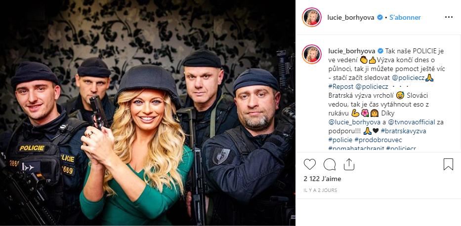Instagram-Czech-Slovak-Police-lucie-borhyova